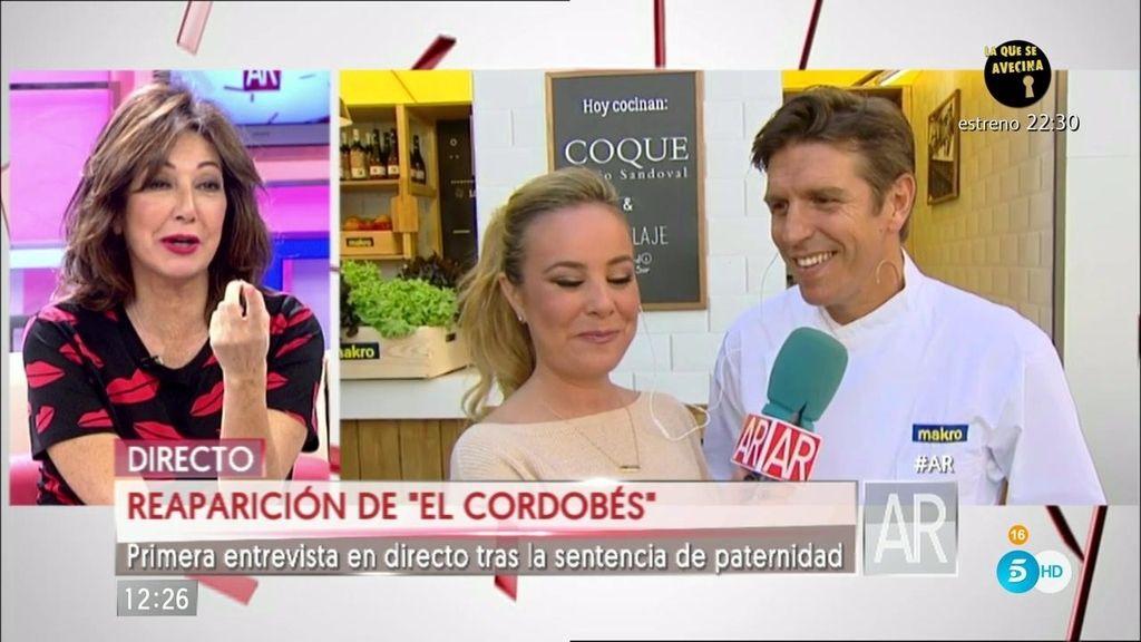 """Manuel Díaz 'El Cordobés': """"Estoy feliz y convencido de lo que he hecho"""""""