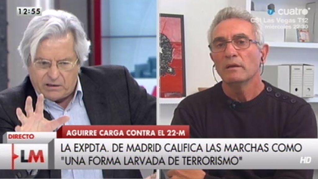 """Nart, a Cañamero: """"Eso es una infamia"""""""