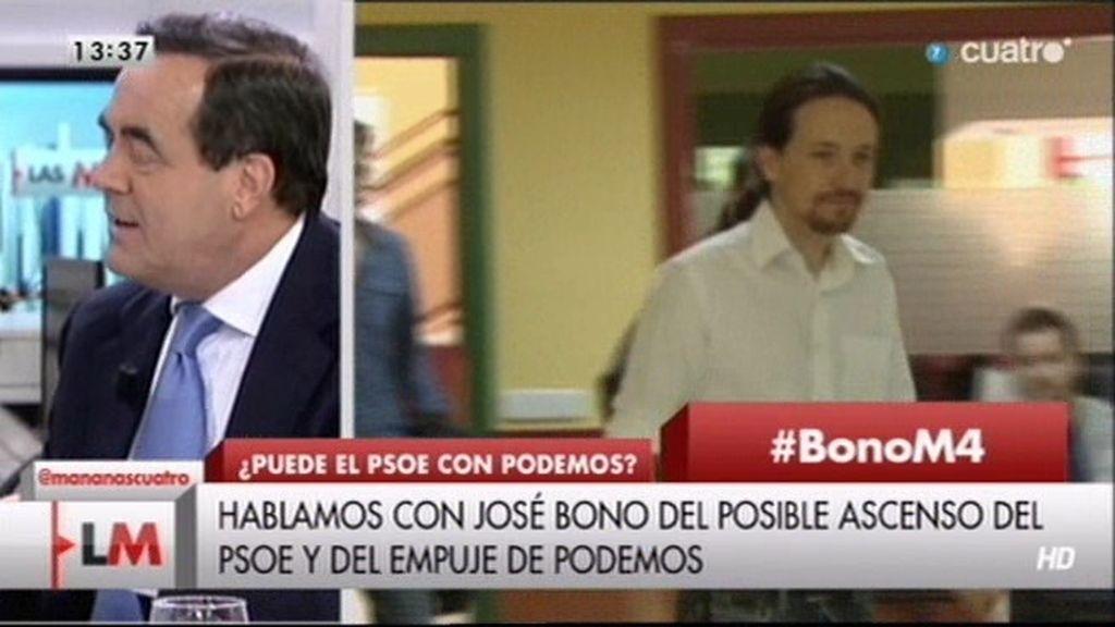 "Bono: ""Miramos con respeto a todos los partidos, pero queremos gobernar en mayoría"""
