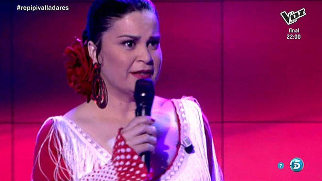 Pepi Valladares imita a Isabel Pantoja