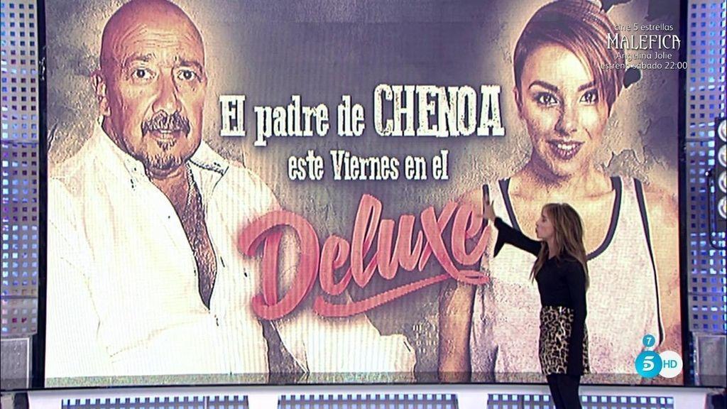 El padre de Chenoa desvela toda la verdad este viernes en 'Sálvame Deluxe'