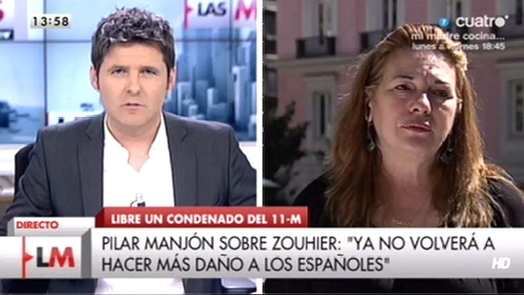 """Manjón, de Zouhier: """"En su país podrá disfrutar de la vida que segó poniendo en contacto ambas células"""""""
