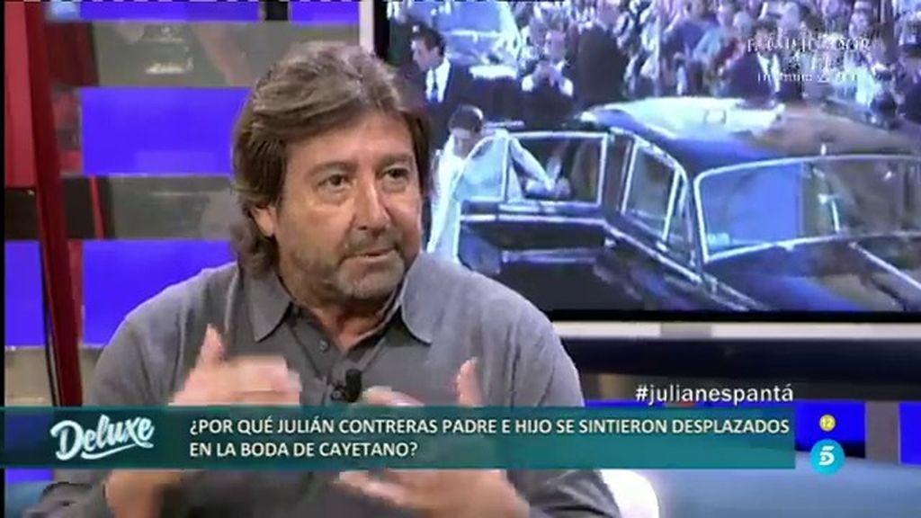 """Julián Contreras padre: """"Francisco me estuvo evitando durante toda la boda"""""""