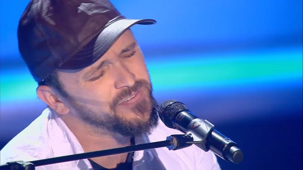 La actuación de Joaquín: 'I believe I can fly'