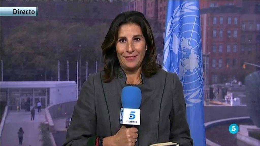 Rajoy promete en la ONU más apoyo a la mujer en conflictos