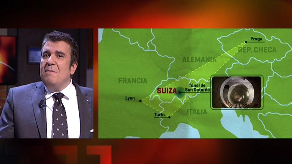 Las conspiraciones sobre la ceremonia inaugural del túnel de San Gotardo