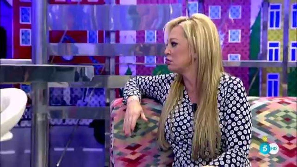 """Belén Esteban: """"Cuando la señorita Olvido entre en plató, yo no voy a coincidir con ella"""""""