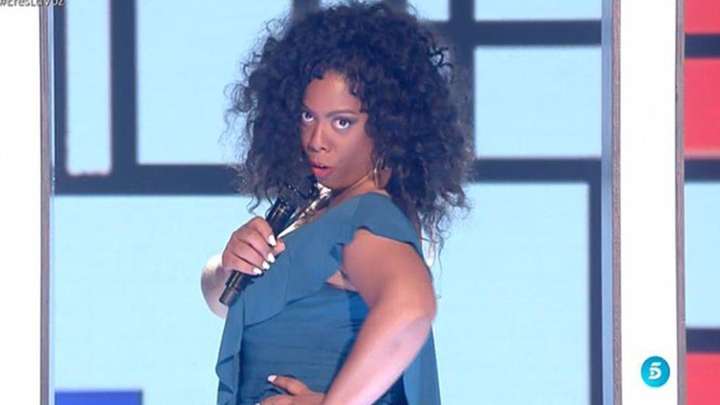La actuación de Diana en la semifinal