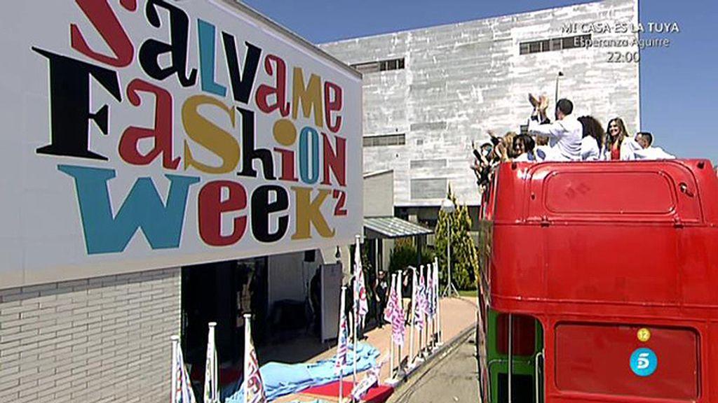 La segunda edición de la 'Sálvame Fashion Week' arranca por todo lo alto