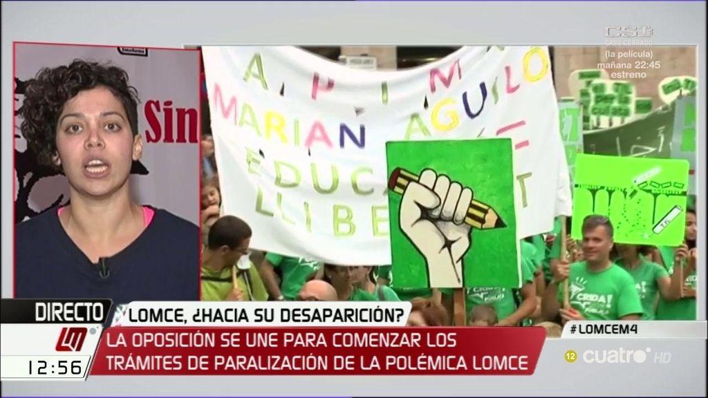 """El sindicato de estudiantes responde al PP: """"Si no calentamos la calle no conseguiremos lo que queremos"""""""