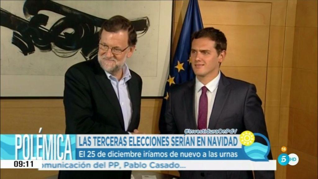 Mariano Rajoy dice sí a Albert Rivera