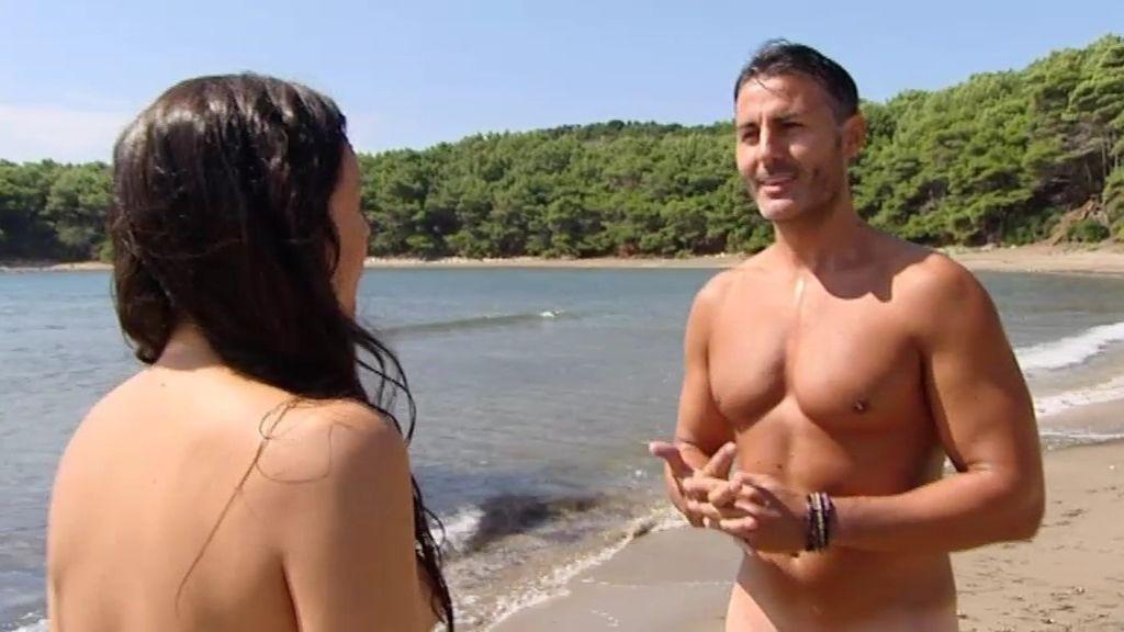 Un adán Míster Aragón y una eva tímida quieren vivir un cuento de hadas en la isla