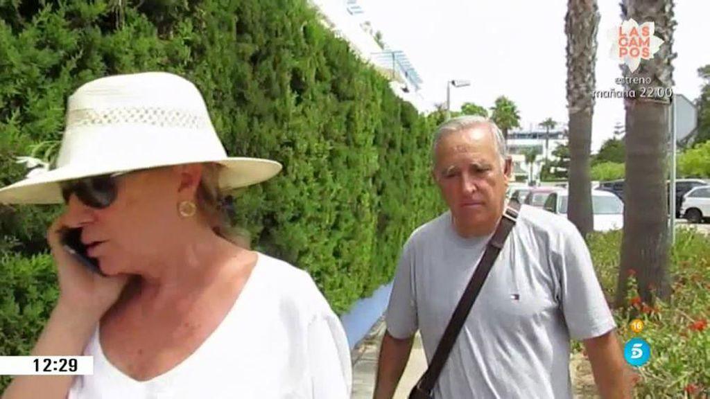 """Gloria y José Antonio, los tíos de José Fernando: """"Le hemos visto bien"""""""
