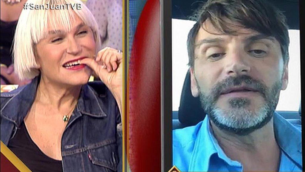 """Fernando Tejero, a Antonia San Juan: """"Seguramente, la vida nos volverá a juntar"""""""