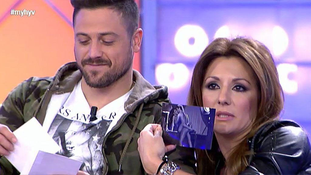 Tamara trae unas fotos para Pascual