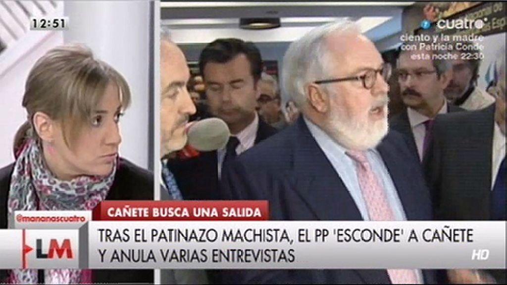 """T. Sánchez, de Cañete: """"Sale lo que es él al natural, parece un poco un yogur caducado"""""""