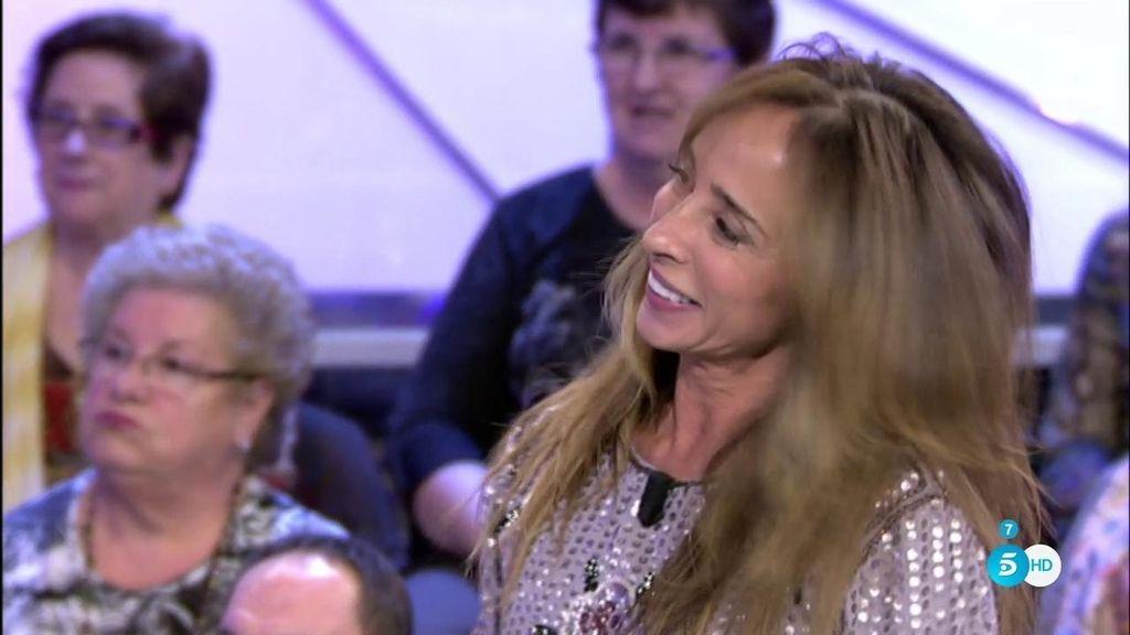 """María Patiño: """"En estos momentos tengo que decir todo mi público que..."""""""
