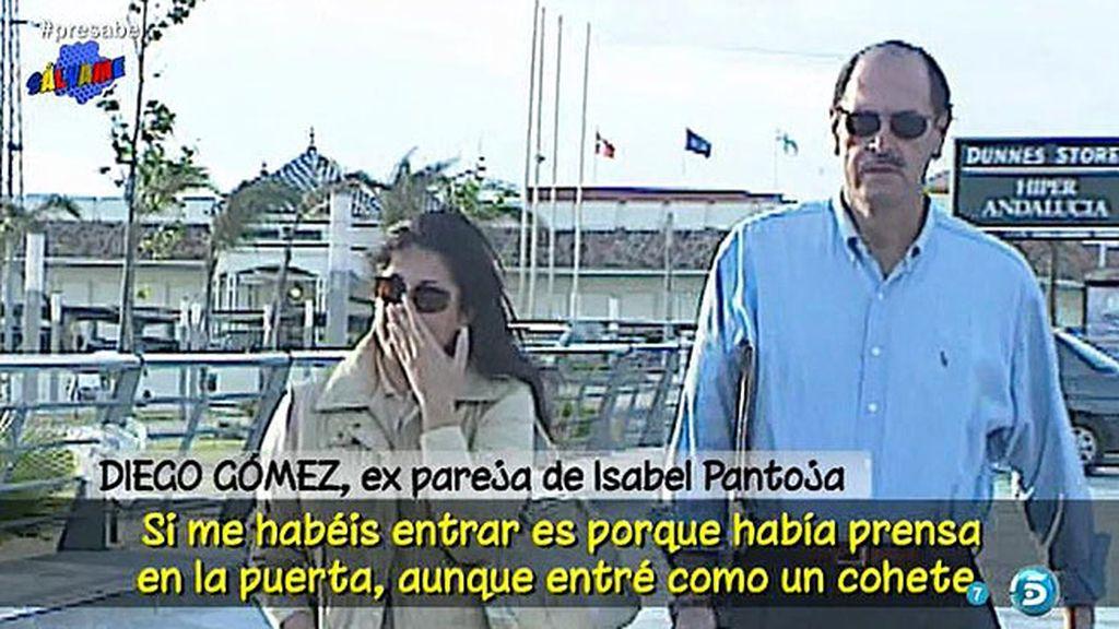 """Diego Gómez: """"Isabel Pantoja fue mi pareja, es mi amiga y la apoyo incondicionalmente"""""""