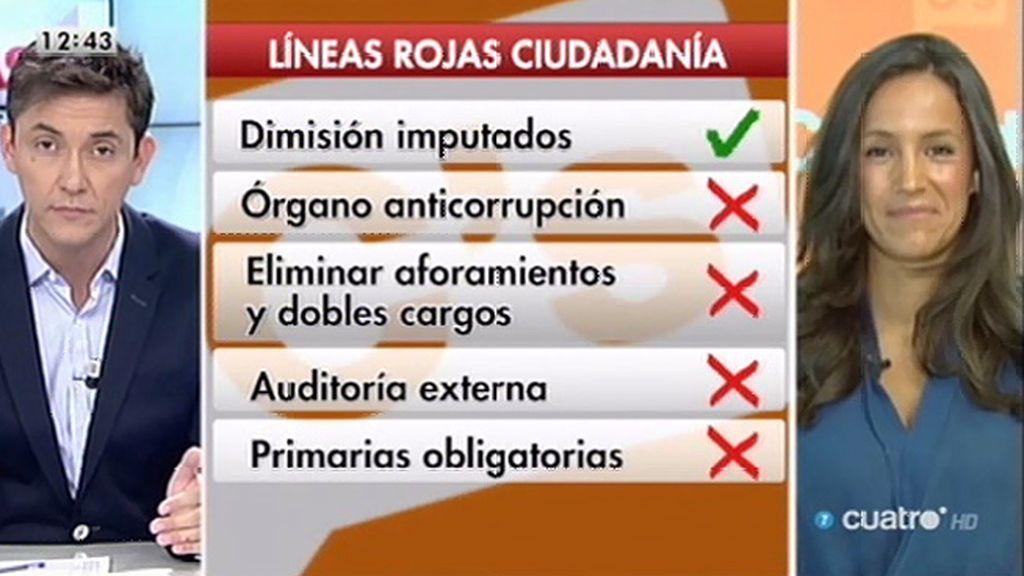 """Villacís (Ciudadanos): """"Las dimisiones nos parecen bien, pero no es suficiente"""""""