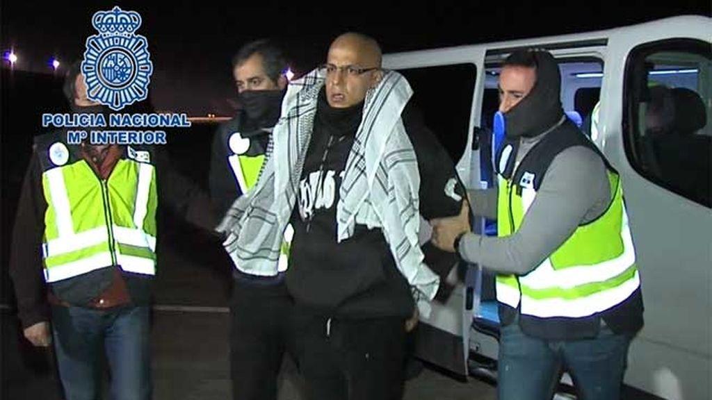 Rafa Zouhier fue expulsado de España nada más salir de prisión