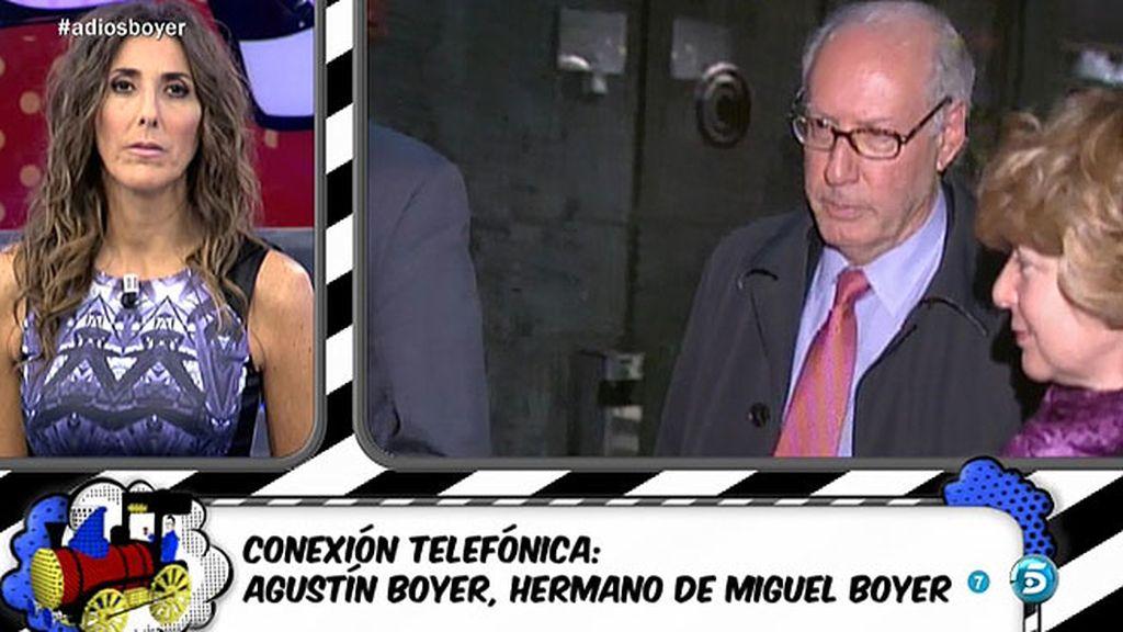 """Agustín Boyer: """"Miguel se enamoró completamente de Isabel Preysler"""""""