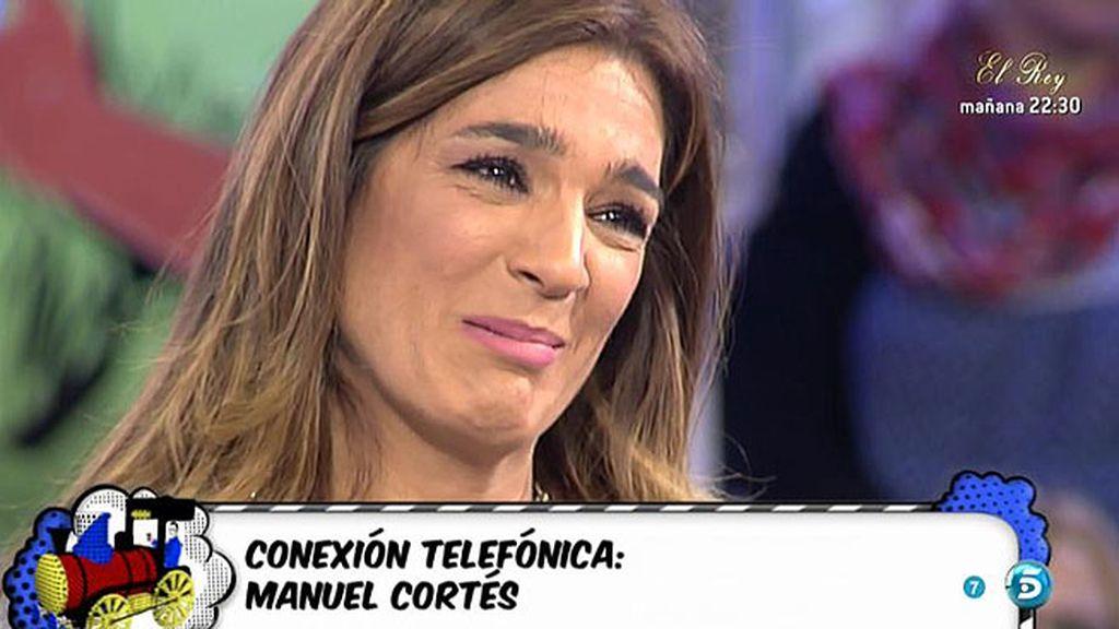 """Manuel Cortés, sobre Raquel Bollo: """"No solo es ella la que sufre, sufrimos todos"""""""