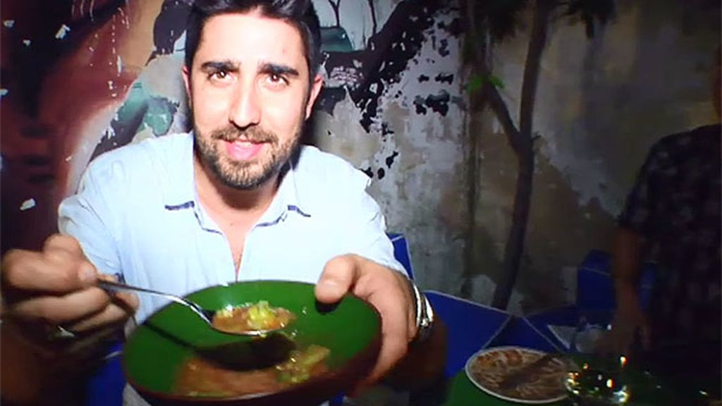 Álex Ubago cena en un 'chef house', un restaurante ubicado en la casa del cocinero