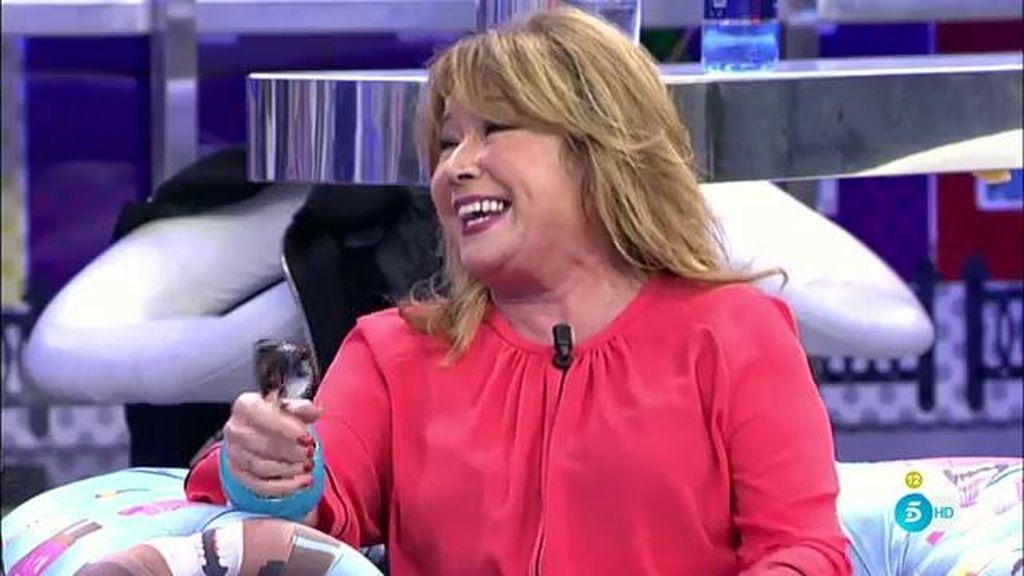 """Mila Ximénez imita el """"¡ay que te quiero!"""" de Rosa Benito en 'GH VIP'"""