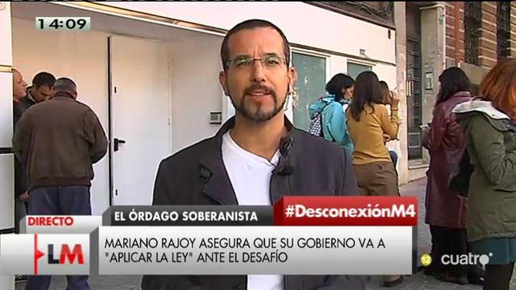 """Sergio Pascual (Podemos): """"Rajoy tiene claro quién es su adversario, Pablo Iglesias"""""""