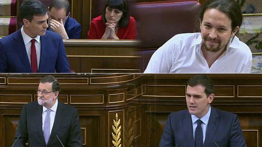 'Noes' a Sánchez, un beso, tensión, gestos… Así ha sido la jornada en el Congreso
