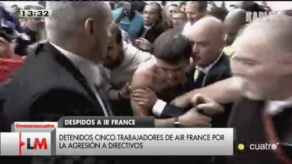 Directivos acorralados, trabajadores furiosos: así se convirtió Air France en un polvorín