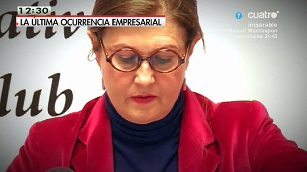 "Mónica Oriol: ""Los subsidios que hay en España generan parasitismos"""