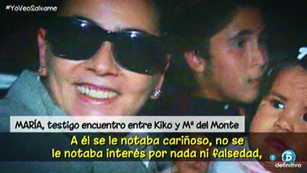Un testigo cuenta cómo María del Monte y Kiko Rivera se encontraron