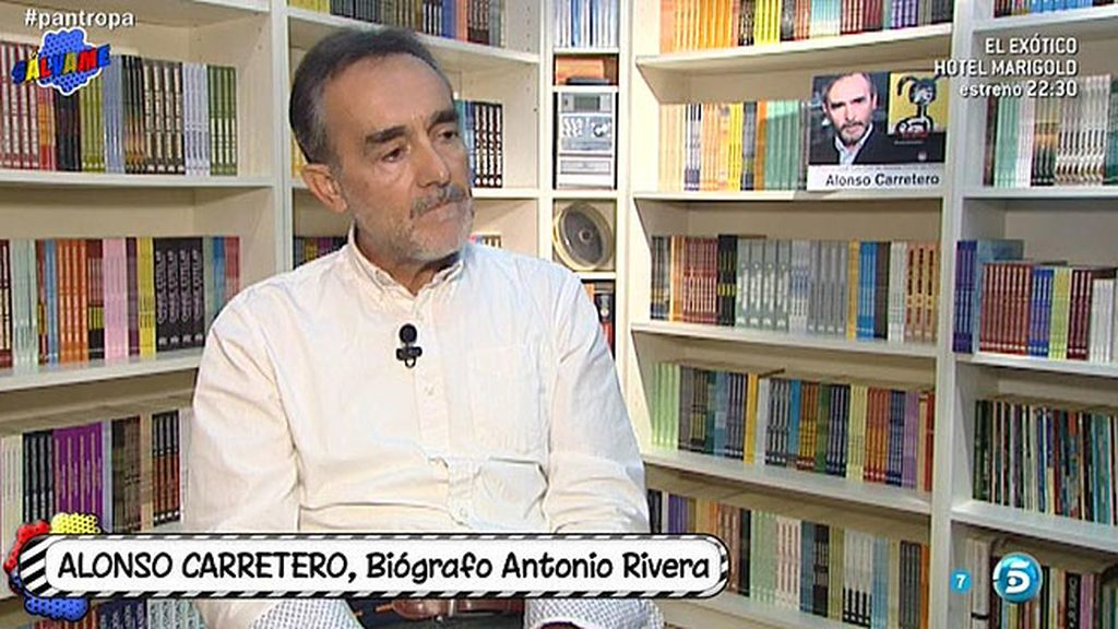 """Alonso Carretero: """"Antonio Rivera vio invadida Cantora por la familia Pantoja"""""""