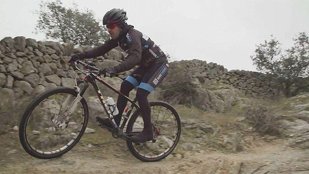 Entrenamiento en la sierra de Madrid para llegar en plenas condiciones a la Titan Desert