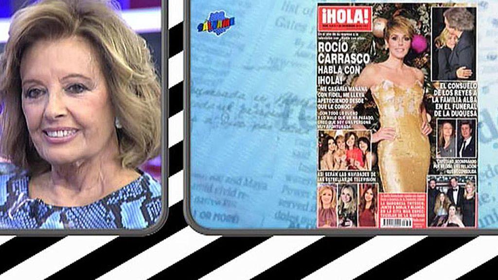 """Mª Teresa, sobre Rocío Carrasco: """"Es injusto cuando te ves obligado a callarte"""""""