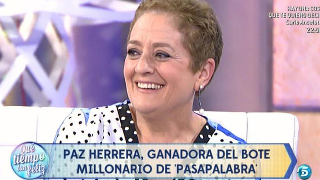 """Paz Herrera: """"En la última etapa estaba muy tranquila porque pensaba que no iba a ganar"""""""