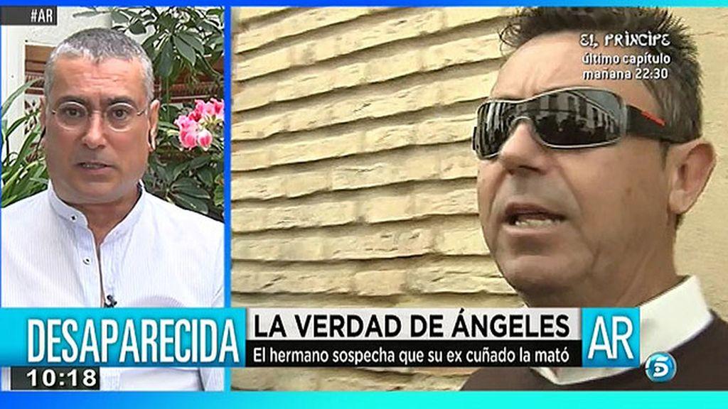 """El hermano de Ángeles Zurera: """"La justicia nos pone en una situación de indefensión"""""""