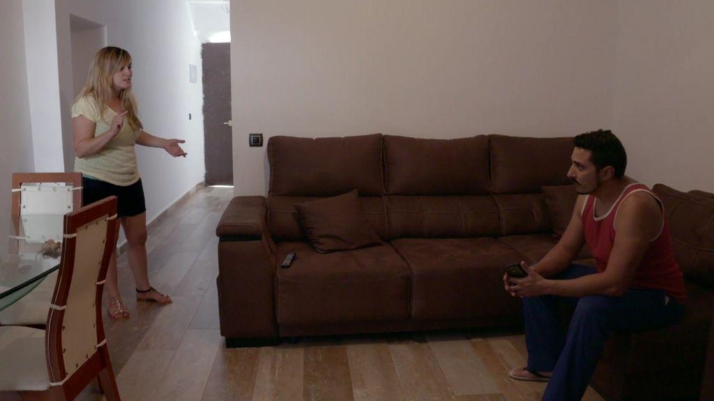 Andrés se marcha de casa dando un portazo tras discutir con Laura