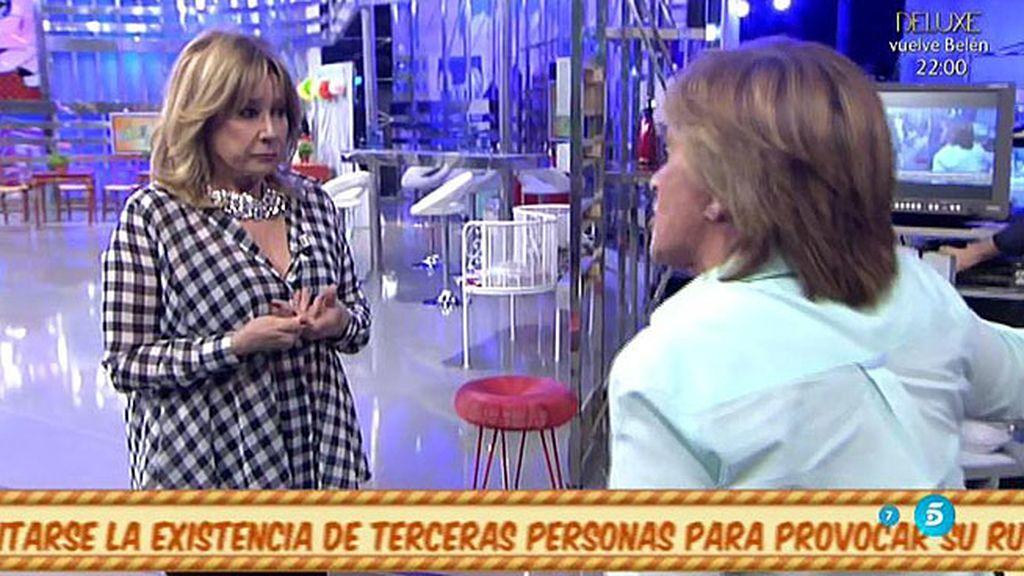 """Chelo G. Cortés, a Mila Ximénez: """"Jamás he traicionado a un compañero"""""""