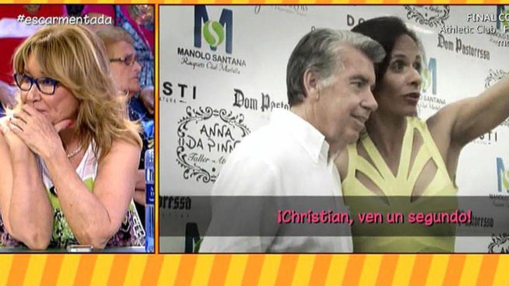 Claudia impide que Manolo Santana hable con 'Sálvame'