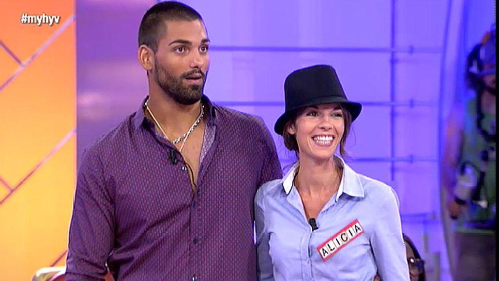 Nacho Montes le da un 9 a Alicia