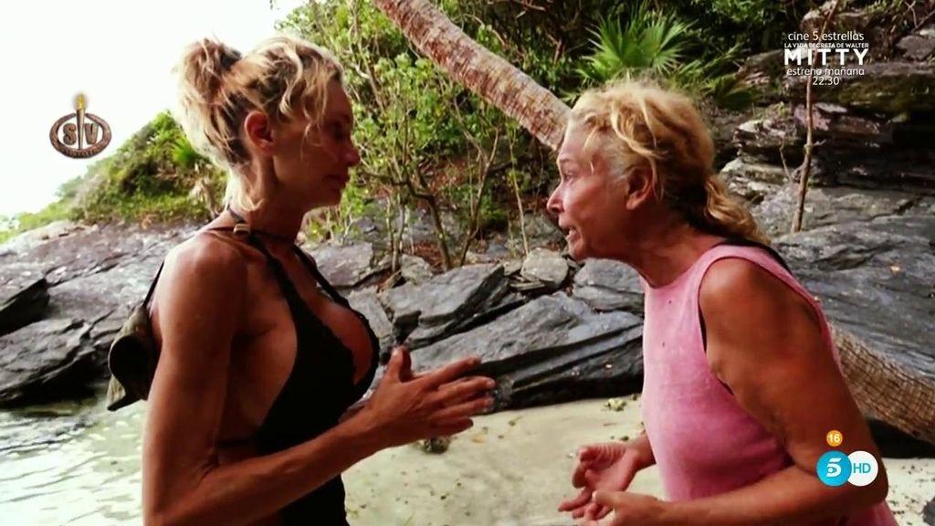 """Mila se toma muy mal la nominación de Yola: """"Tú siempre le has hecho la pelota a Carla"""""""