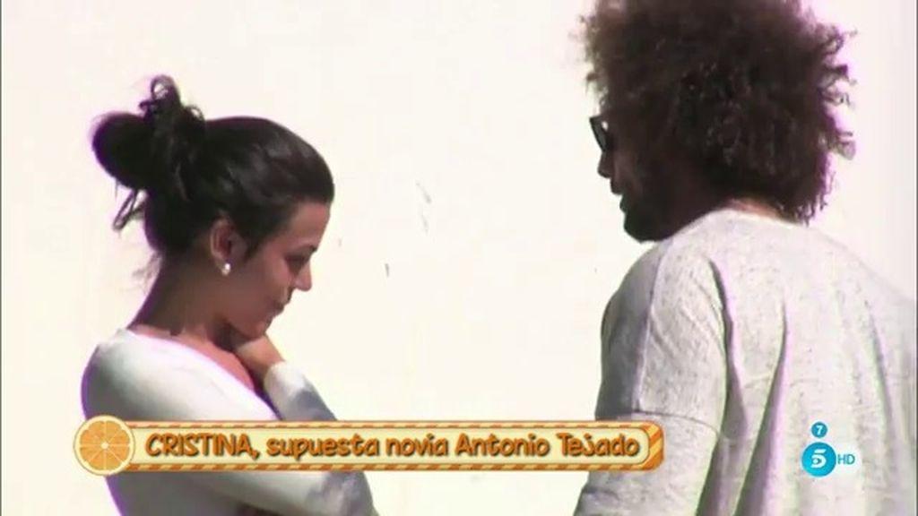 """Cristina, supuesta novia de Antonio Tejado: """"Él se entrega mucho a mí, le veo sincero"""""""