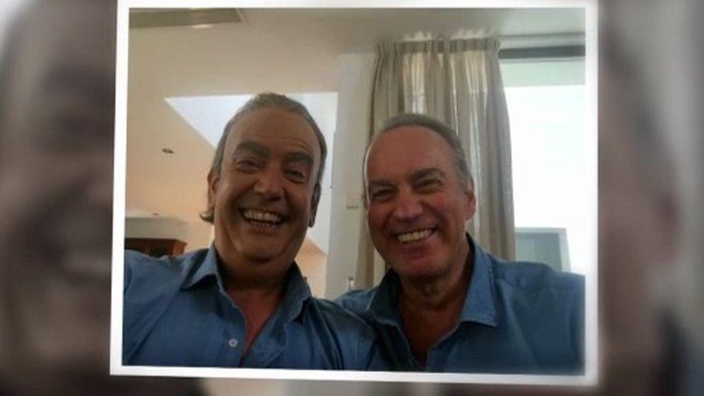 El selfie de los dos Bertín: ¿Cuál es el verdadero?