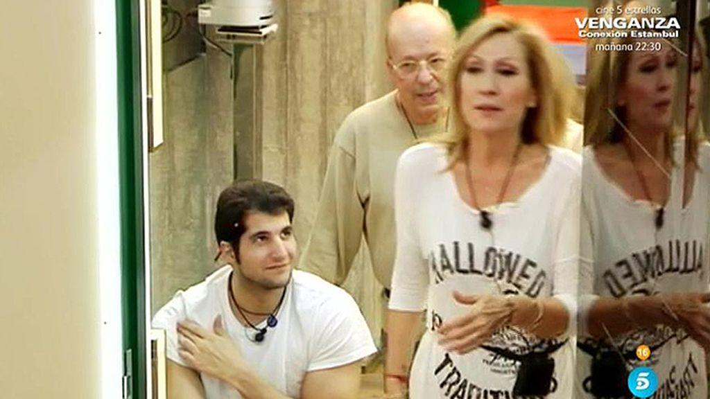 """Carlos, sobre Rosa: """"Parece la vieja del visillo"""""""