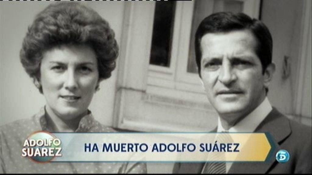 Suárez, unido a su familia en la lucha contra el cáncer y cuando le fallaron las fuerzas