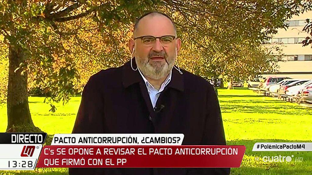 """Antón Losada: """"Los buitres no son los medios de comunicación, es el Partido Popular"""""""