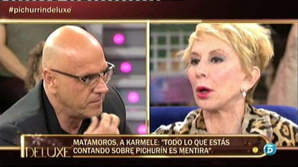"""Matamoros, a Karmele: """"No has contado ni una verdad desde que te has sentado ahí"""""""