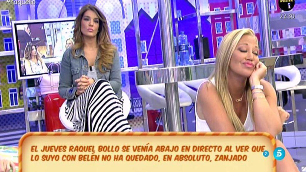 """Raquel Bollo, con respecto a Belén Esteban: """"Esta amistad se ha roto"""""""